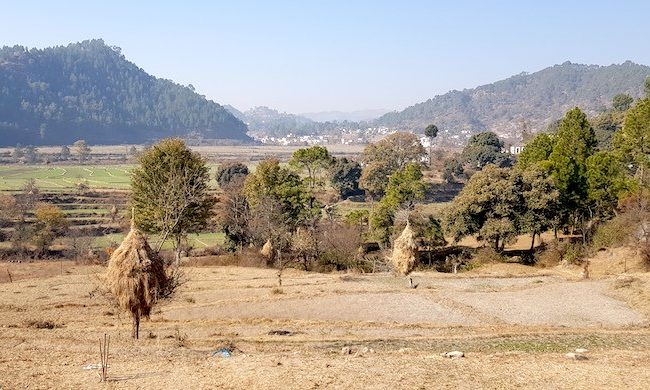 Gagas valley in Uttarakhand,