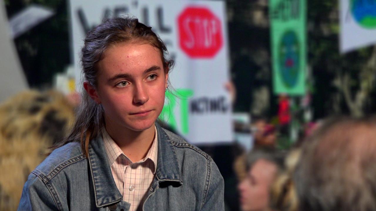 Anica Renner, Australian School Strike activist